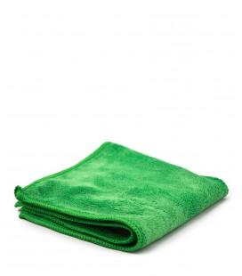 Tissu microfibre vert 30x30cm
