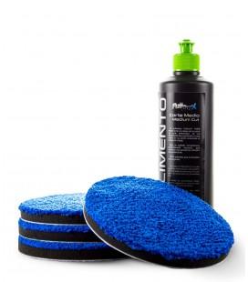 PACK Corte Medio Boina Microfibra Azul