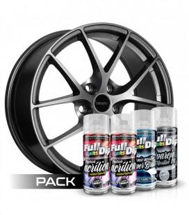 Pack 'Paint Your Wheels' Acrylic NOIR MÉTALLIQUE