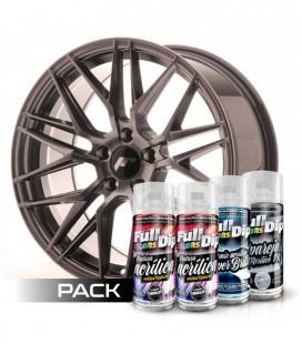 Pack 'Paint Your Wheels' Acrylic HYPERBLACK MÉTALISÉ