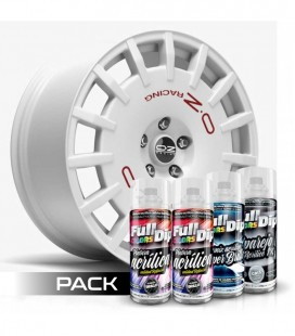 Pack 'Paint Your Wheels' Acrylic BLANC