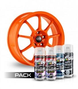 Pack 'Paint Your Wheels' Acrylic ORANGE