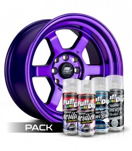 Pack 'Paint Your Wheels' Acrylic VIOLETTE