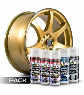 Pack 'Paint Your Wheels' Acrylic PERLE D'OR
