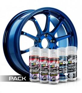 Pack 'Paint Your Wheels' Acrylic BLEU ÉLECTRIQUE