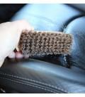 Brosse en cuir et Alcantara (Haute Qualité)