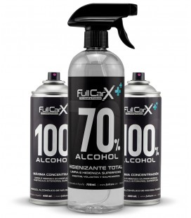 PACK x2 Sprays 400ml + x1 Higienizante Hidroalcohólico 750ml