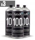 PACK x3 Sprays Higienizantes Base Alcohol 400ml