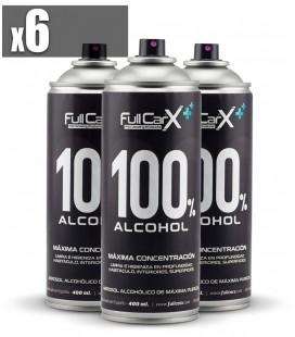 PACK x6 Sprays Higienizantes Base Alcohol 400ml
