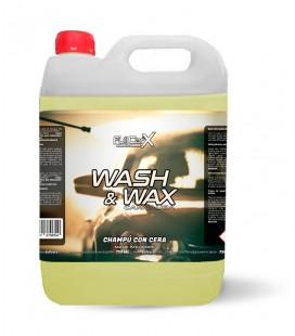 5L Champú con Cera (Wash&Wax) - GRAN FORMATO