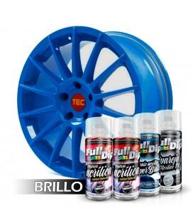 Pack 'Paint Your Wheels' Acrylic BLEU LUMINOUS