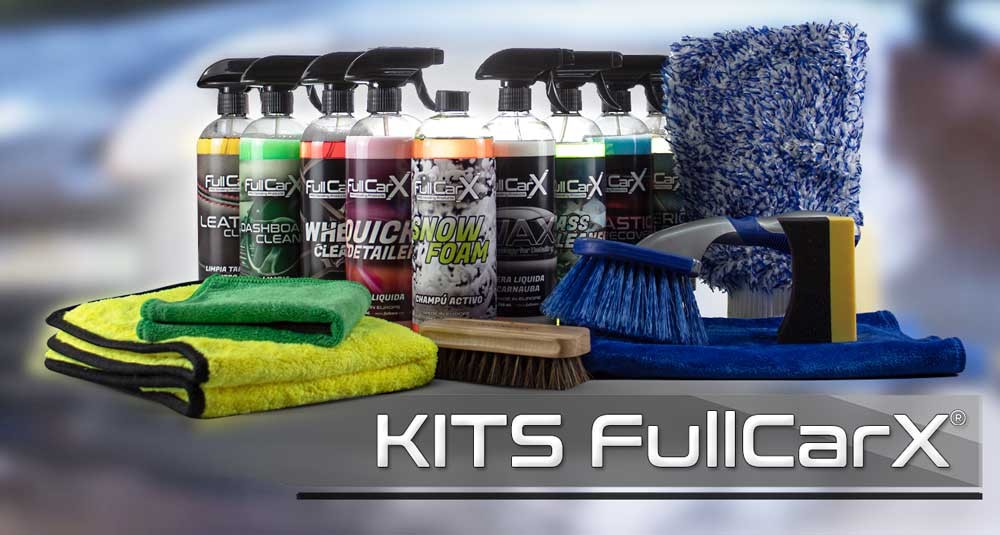 KITS FullCarX® PRO Detailing Products