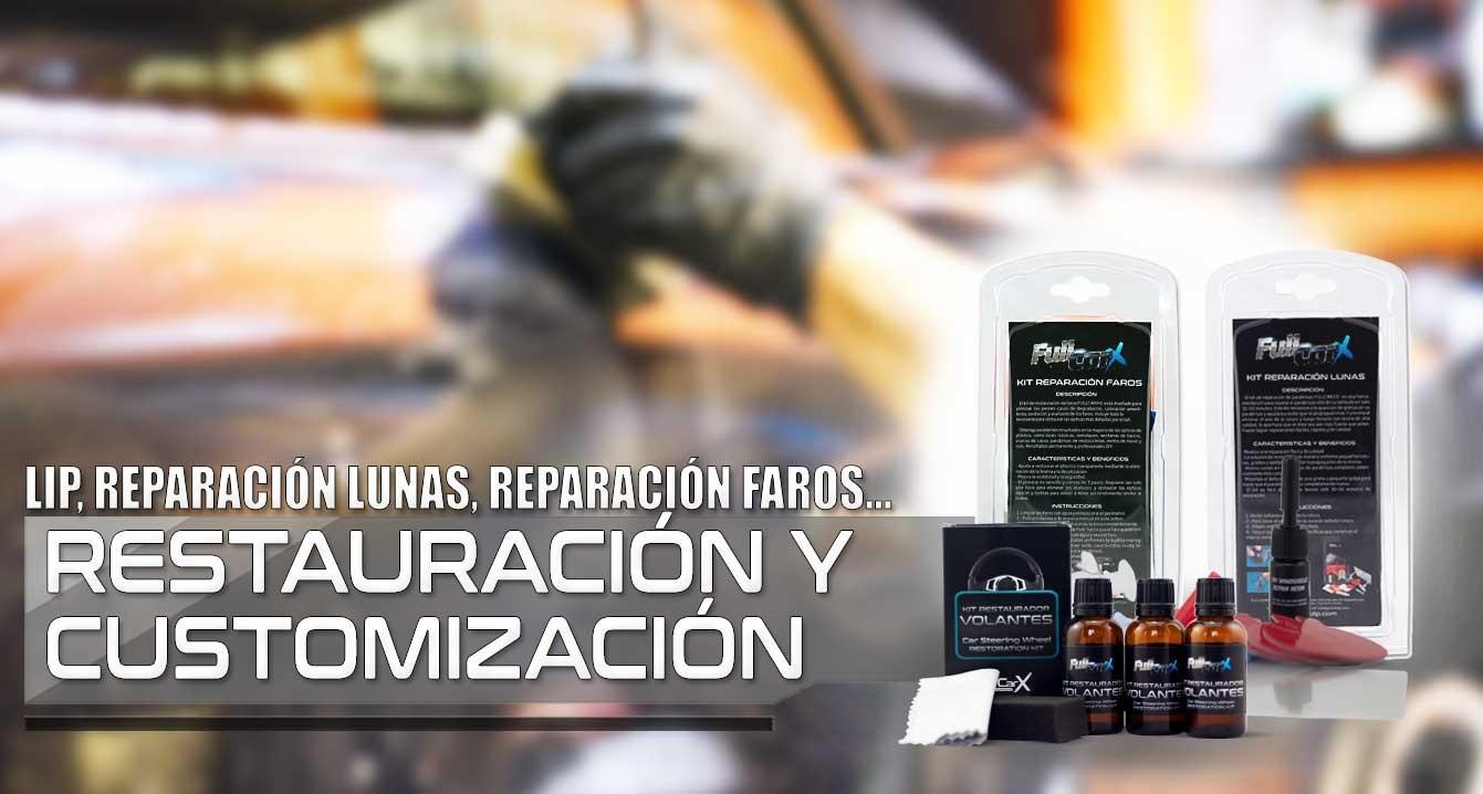 RESTAURACIÓN Y CUSTOMIZACIÓN FullCarX®